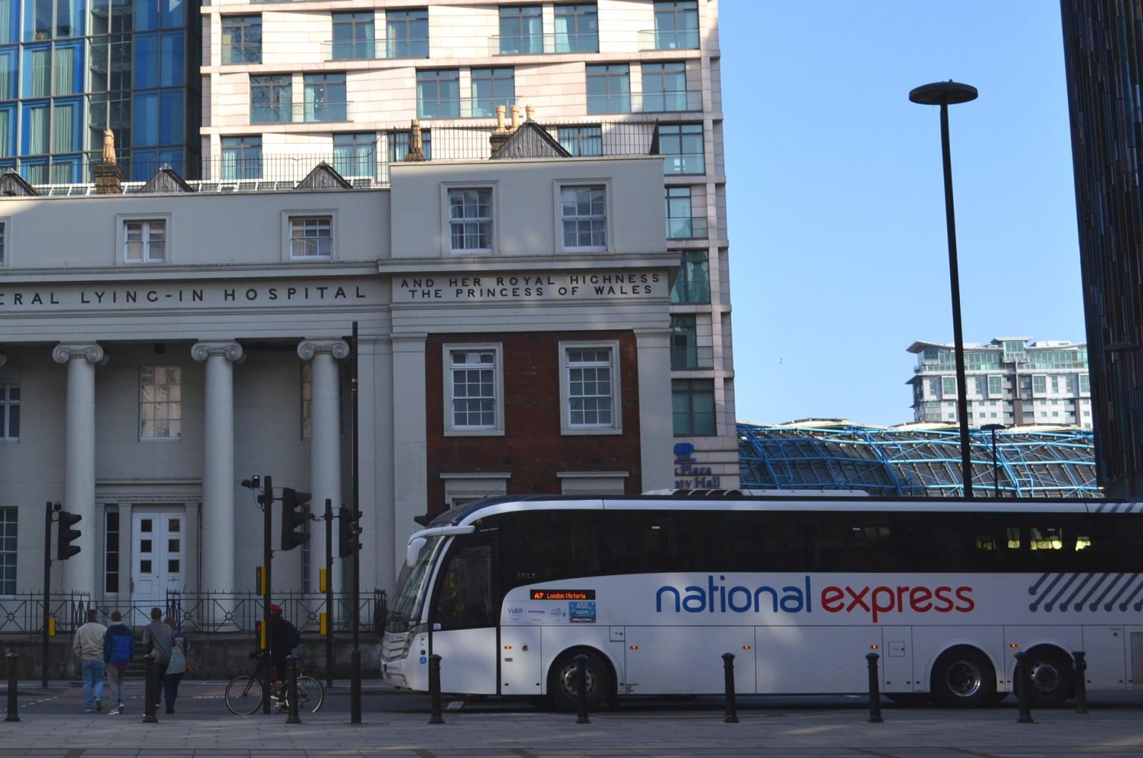 von heathrow nach london - national express