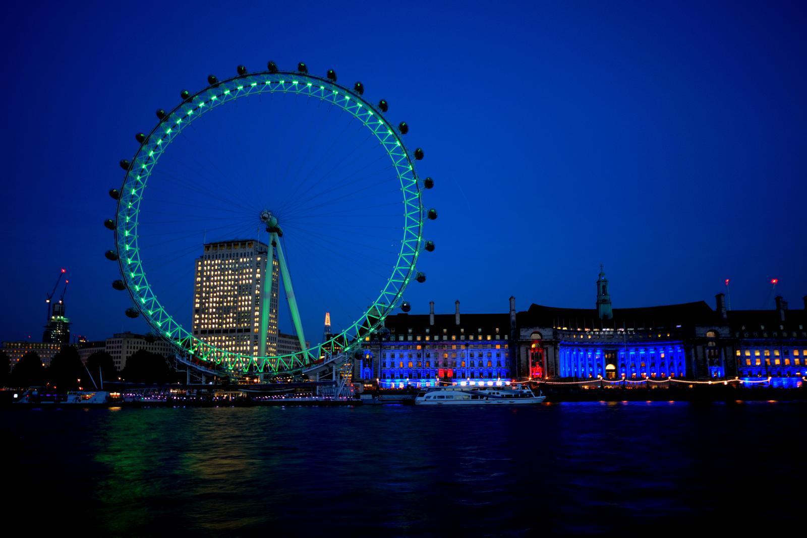 Öffnungszeiten London Eye
