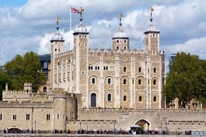 The Tower of London bei Sonnenschein