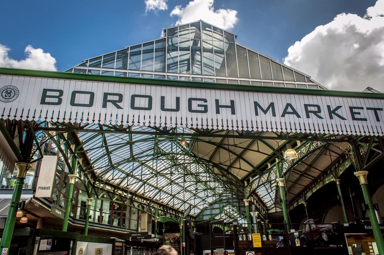 South Bank London - Borough Market