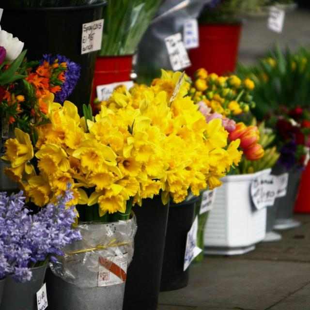 Der Columbia Road Flower Market in London