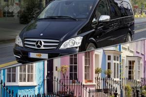 Transfer mit privatem Minivan nach Stansted London