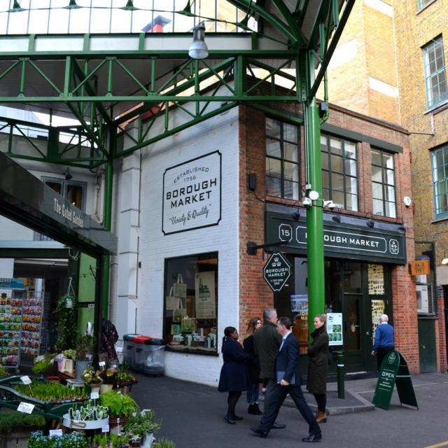 Der Borough Market in London