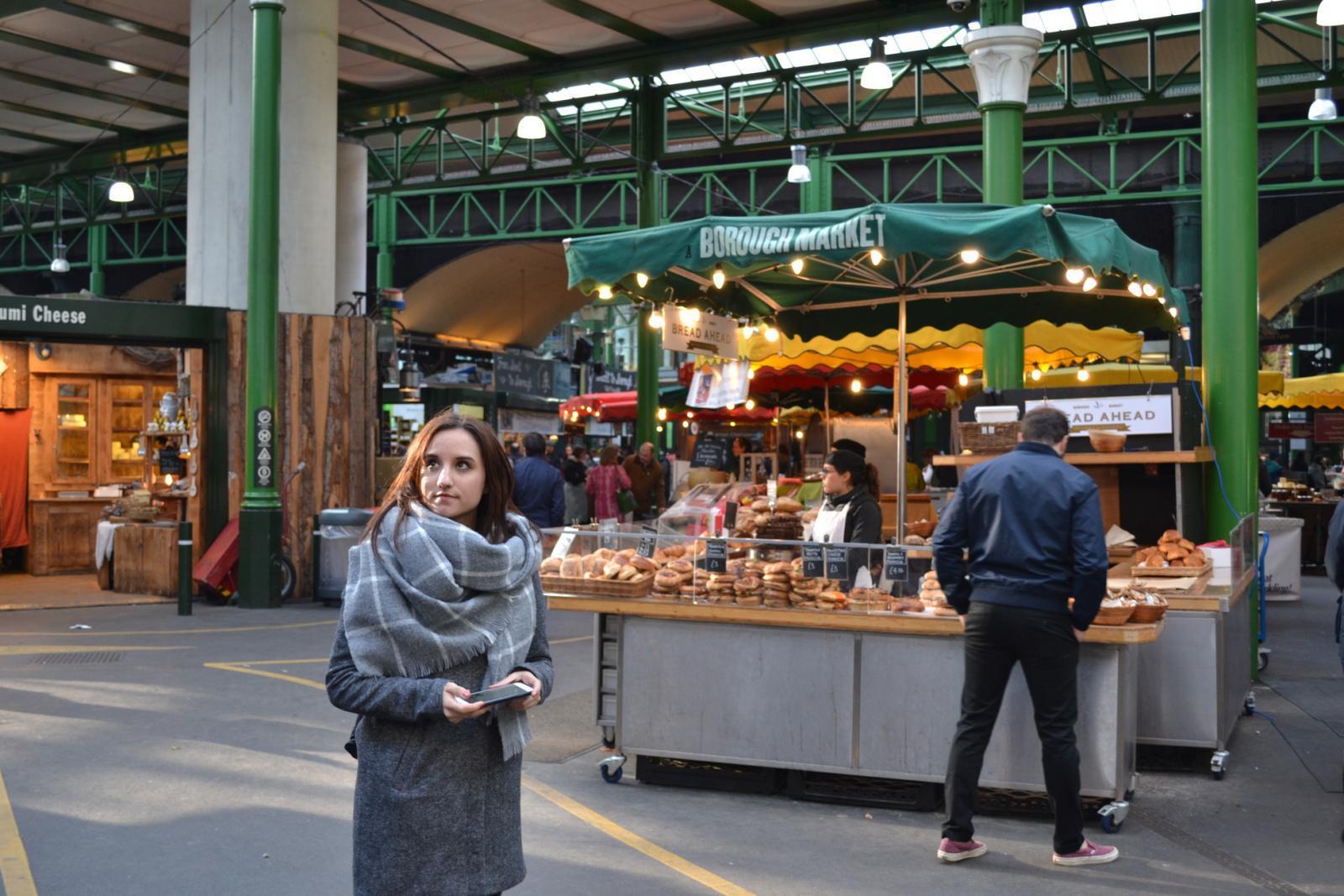 Der Borough Market in London - immer einen Besuch wert