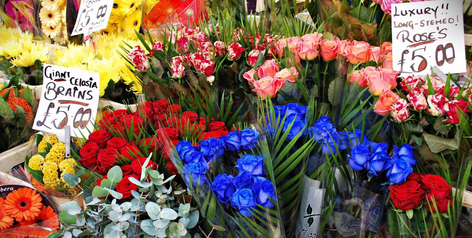 Der Columbia Road Flower Market In London 2020