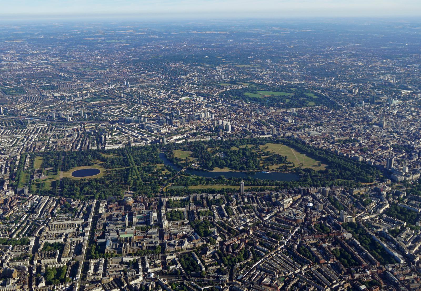 Der Hyde Park & die Kensington Gardens