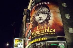 Les Miserables Musical in London