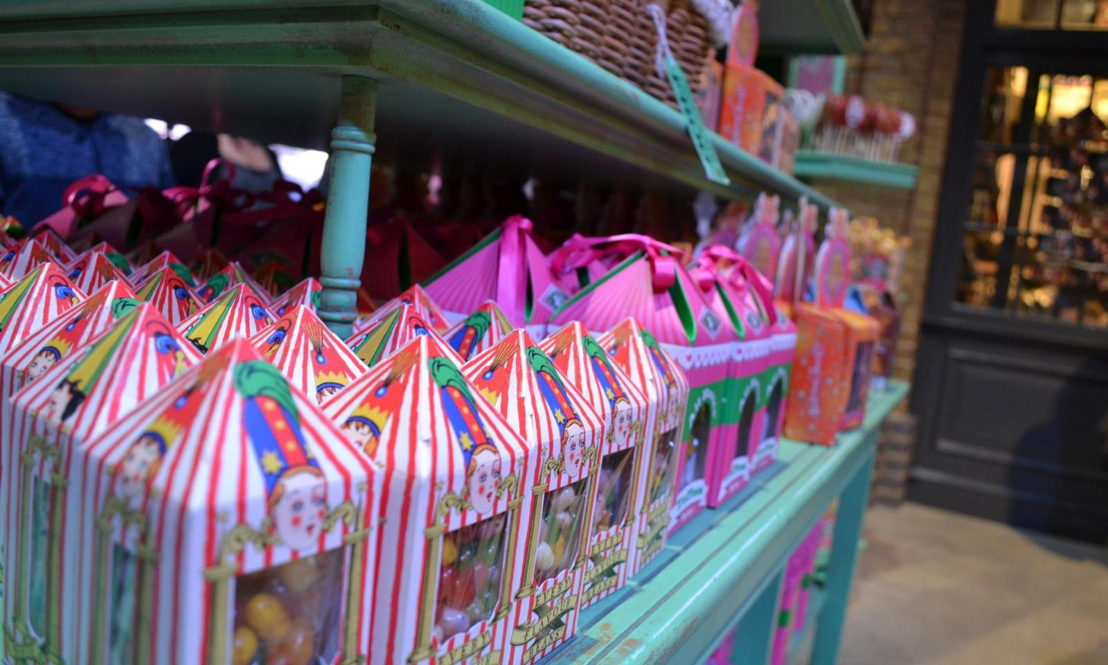 Süßigkeiten im Harry Potter Shop London