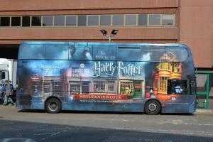 Der Harry Potter Studio Tour Bus in London