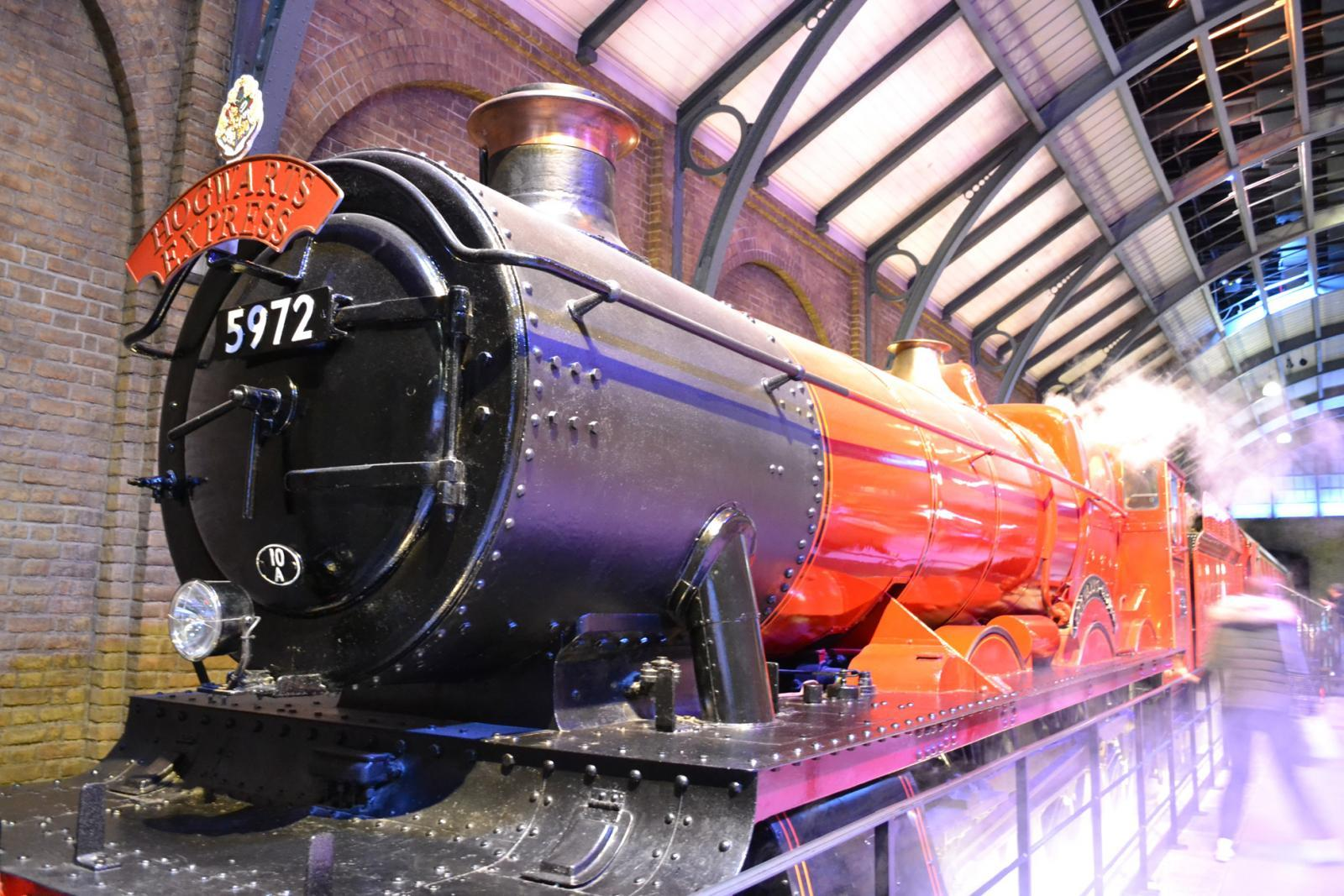 Der Hogwarts-Express bei der Harry Potter Studio Tour