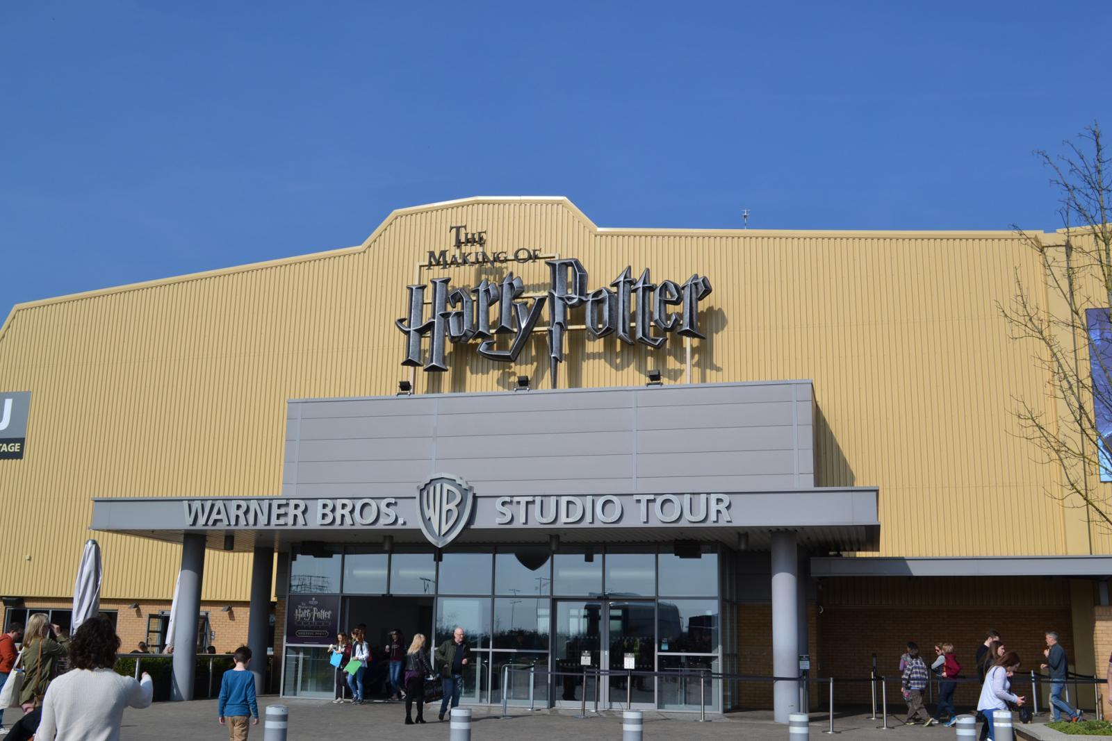 Der Eingang der Harry Potter Warner Bros. Studio Tour