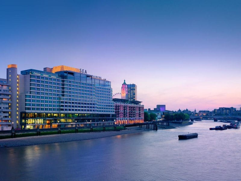 South Bank London - Mondrian Hotel