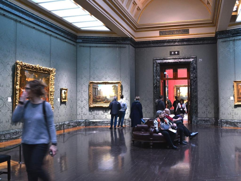 Ein Blick in die The National Gallery