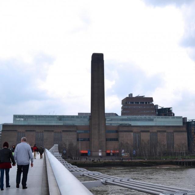 Das Tate Modern Museum in London