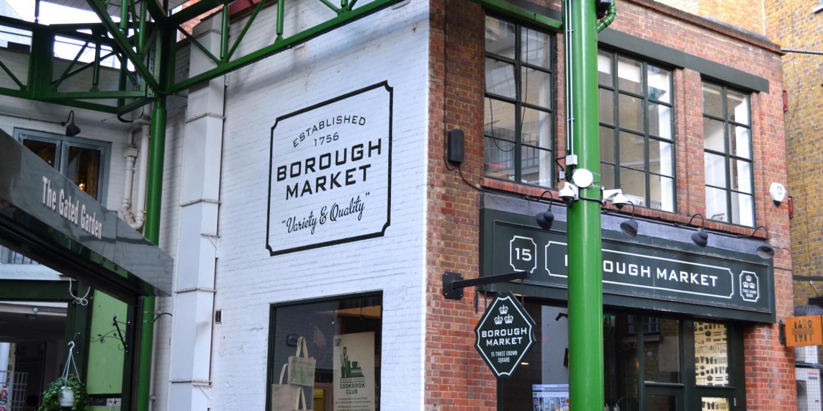 London in 3 Tagen Borough Market