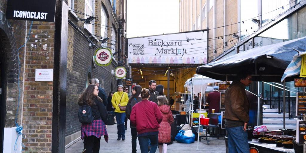 5 Tage London Tour Brick Lane