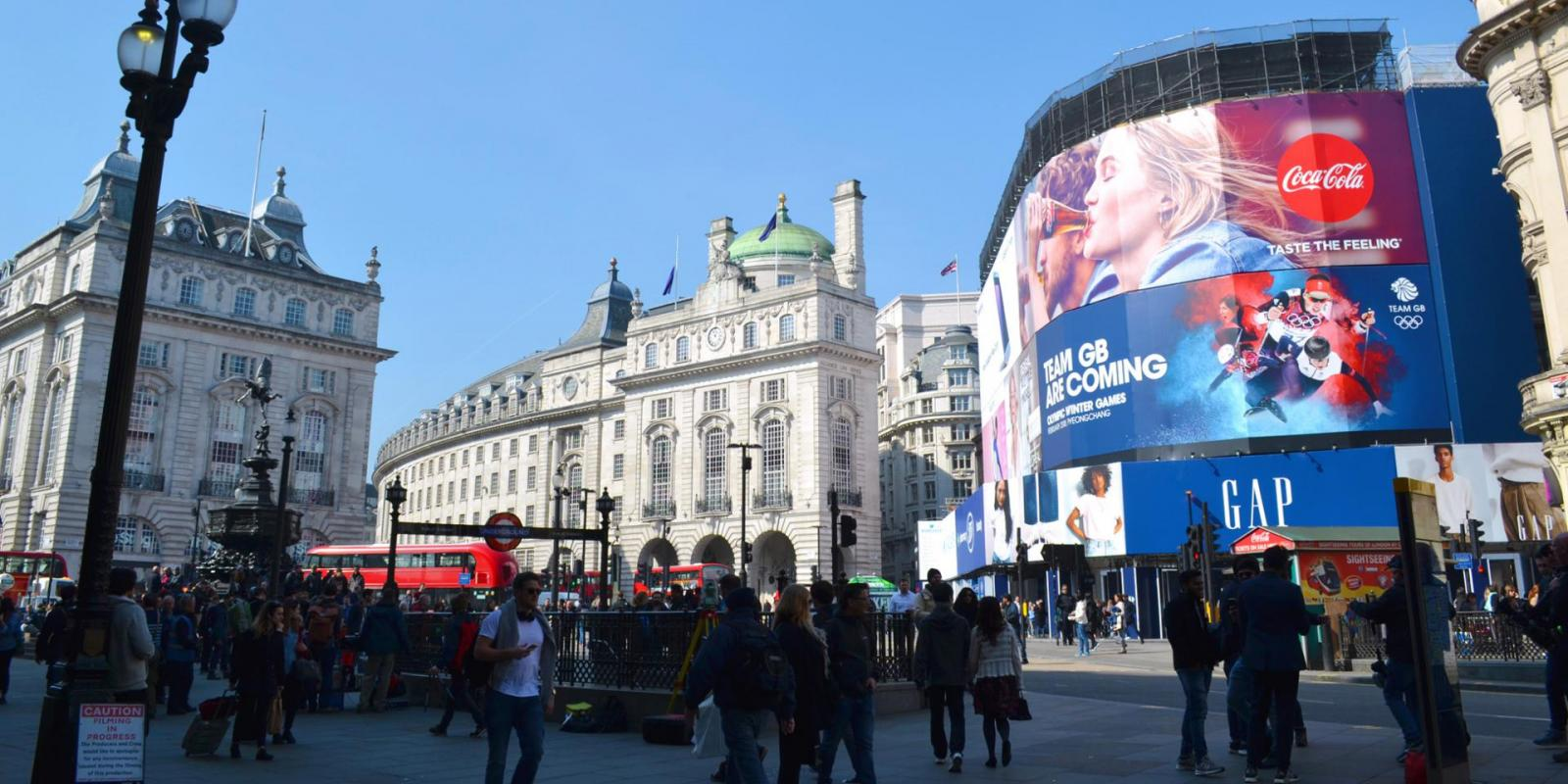 london in 3 tagen picadilly