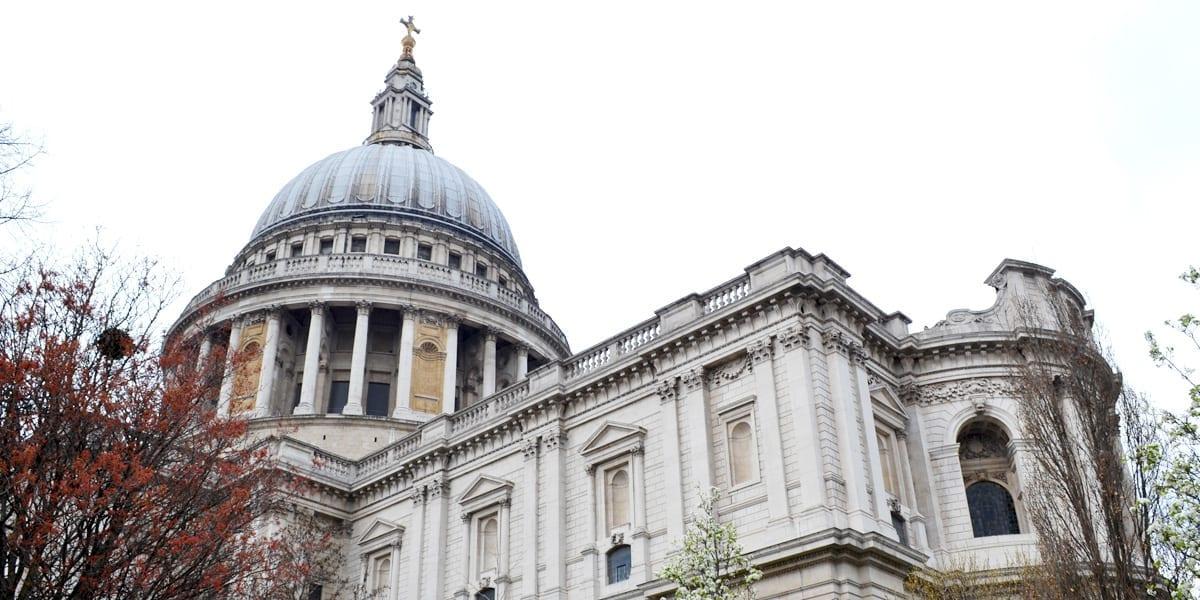 London in drei Tagen St. Pauls