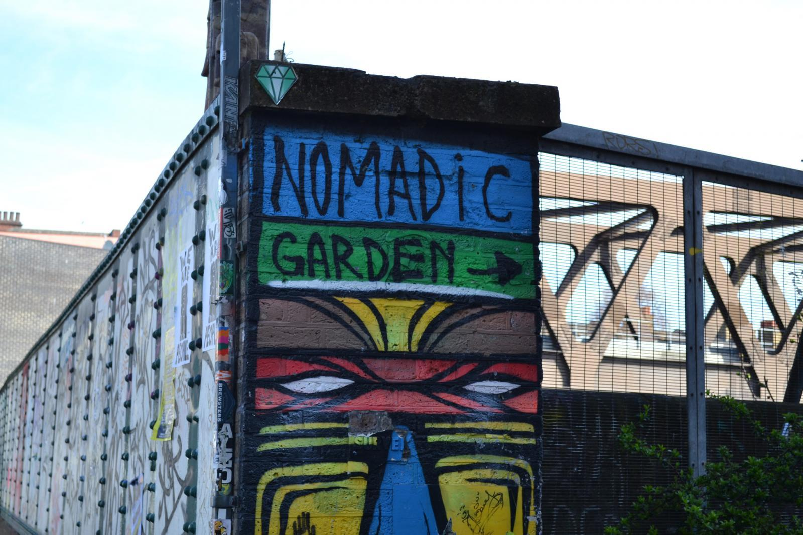 Nomadic Garden in der Brick Lane