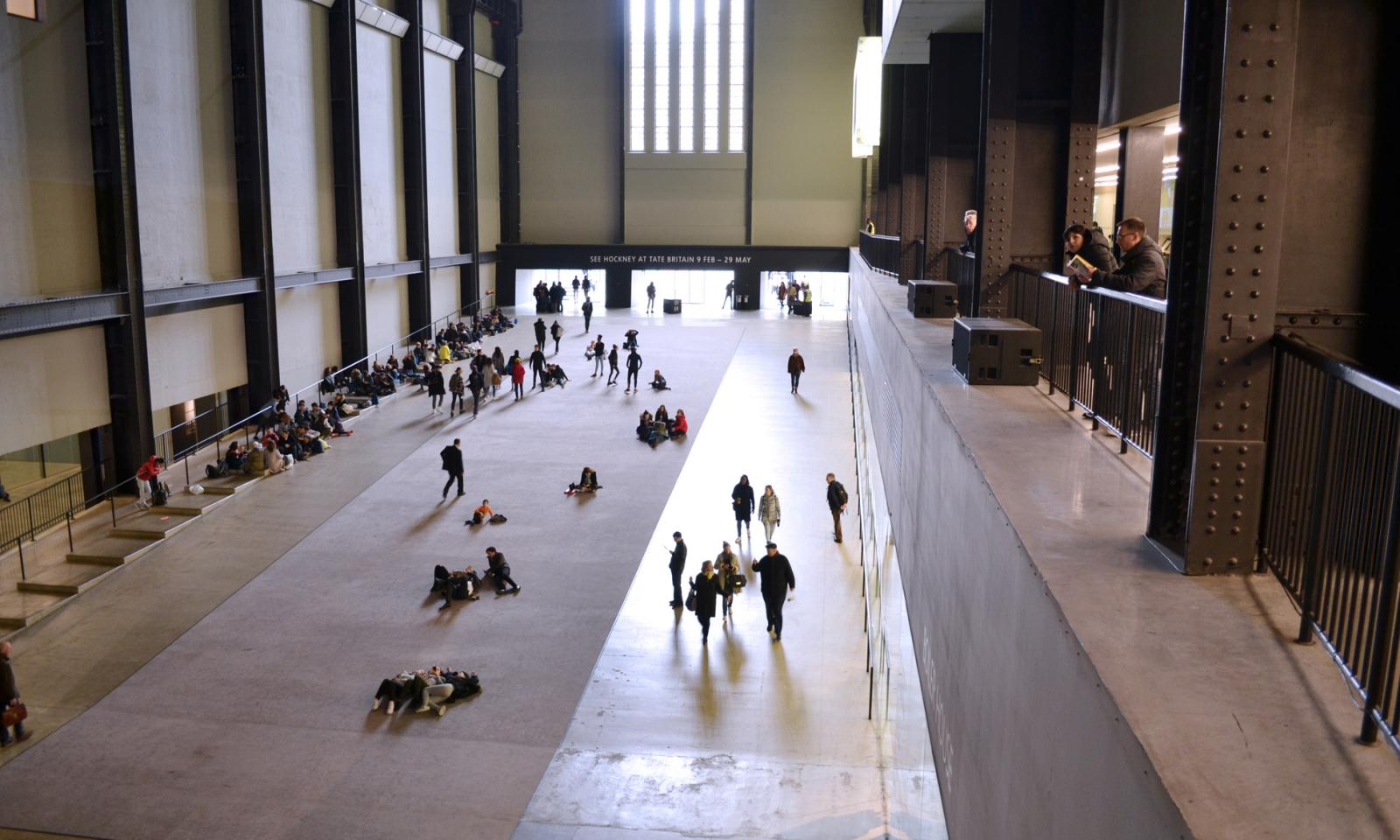 South Bank London - Tate Modern Gallery