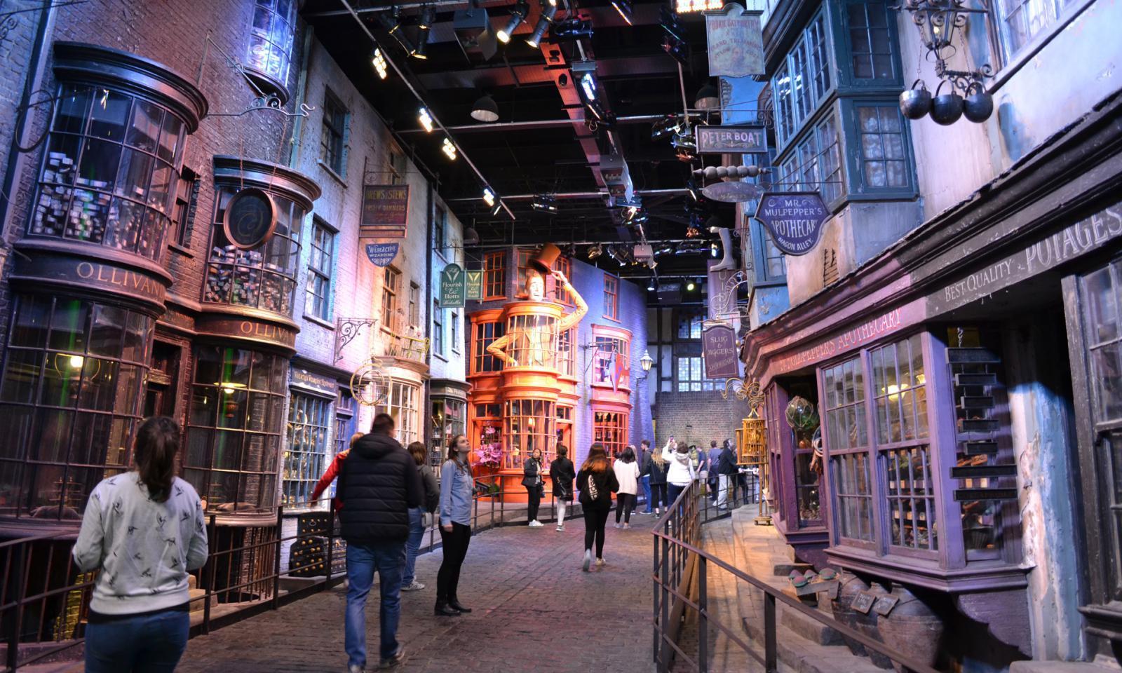 Harry-Potter-London-Winkelgasse