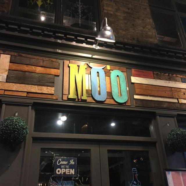 Die Moo Cantina Argentina in der Brick Lane