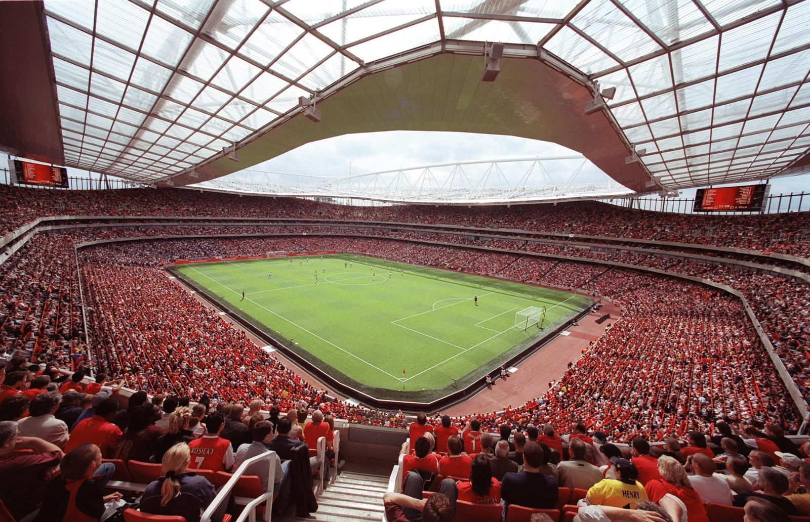 Stadion des FC Arsenal in London