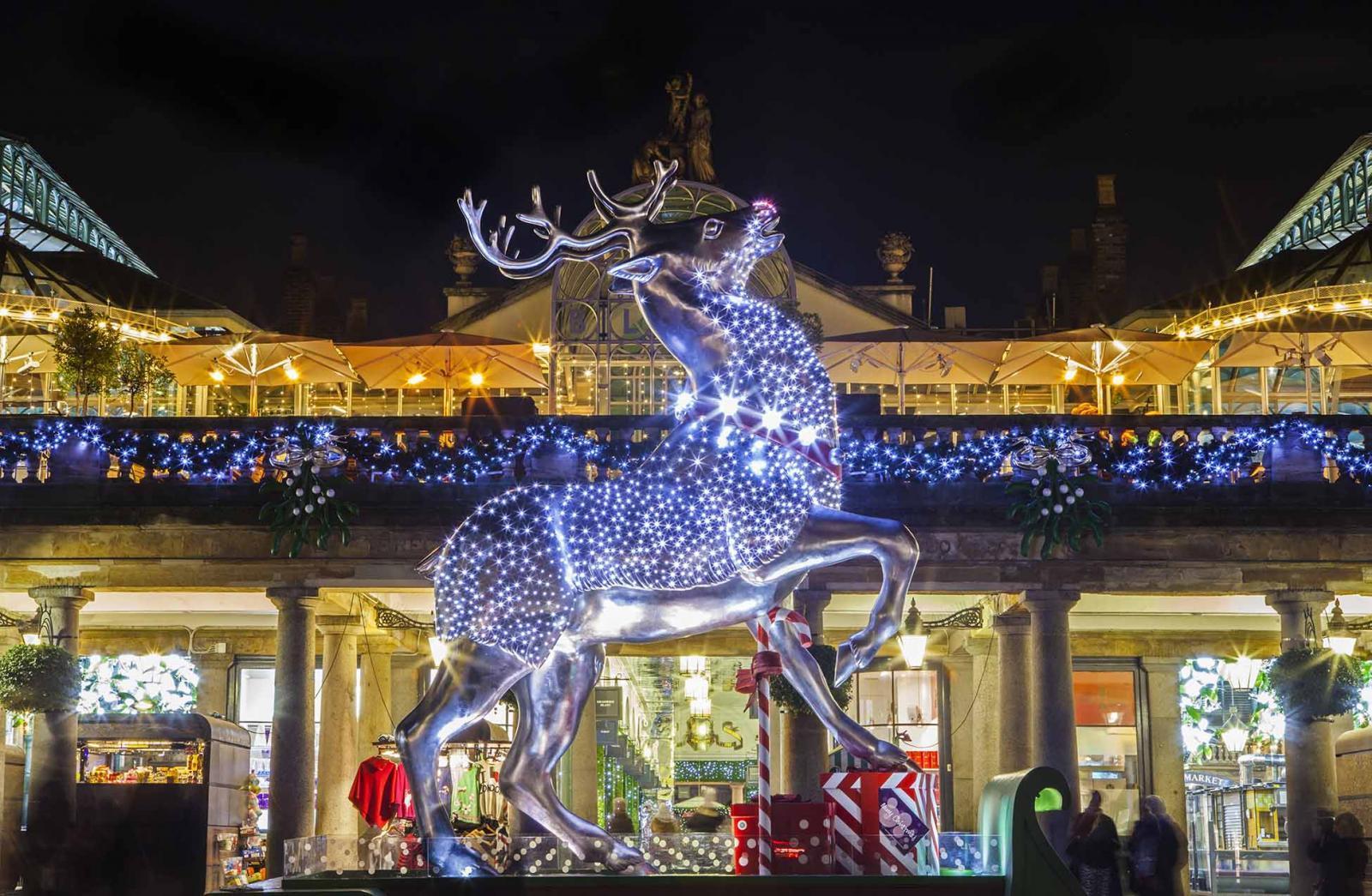 Covent Garden Market an Weihnachten