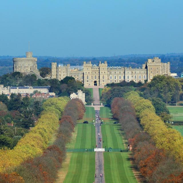 Windsor Castle – der Stammsitz der Queen