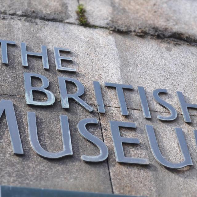 Das British Museum in London
