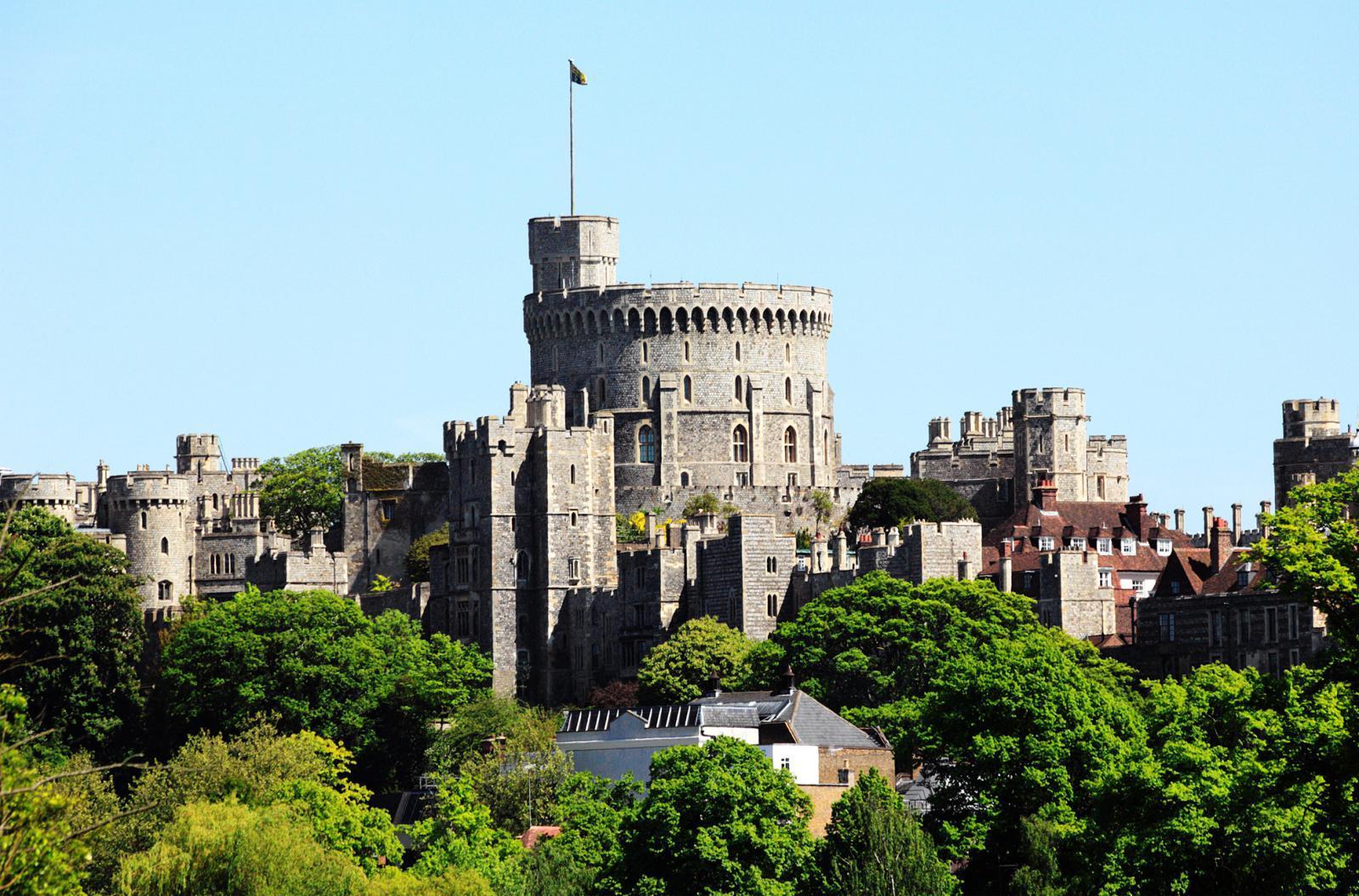 Windsor Castle aus der Vogelperspektive