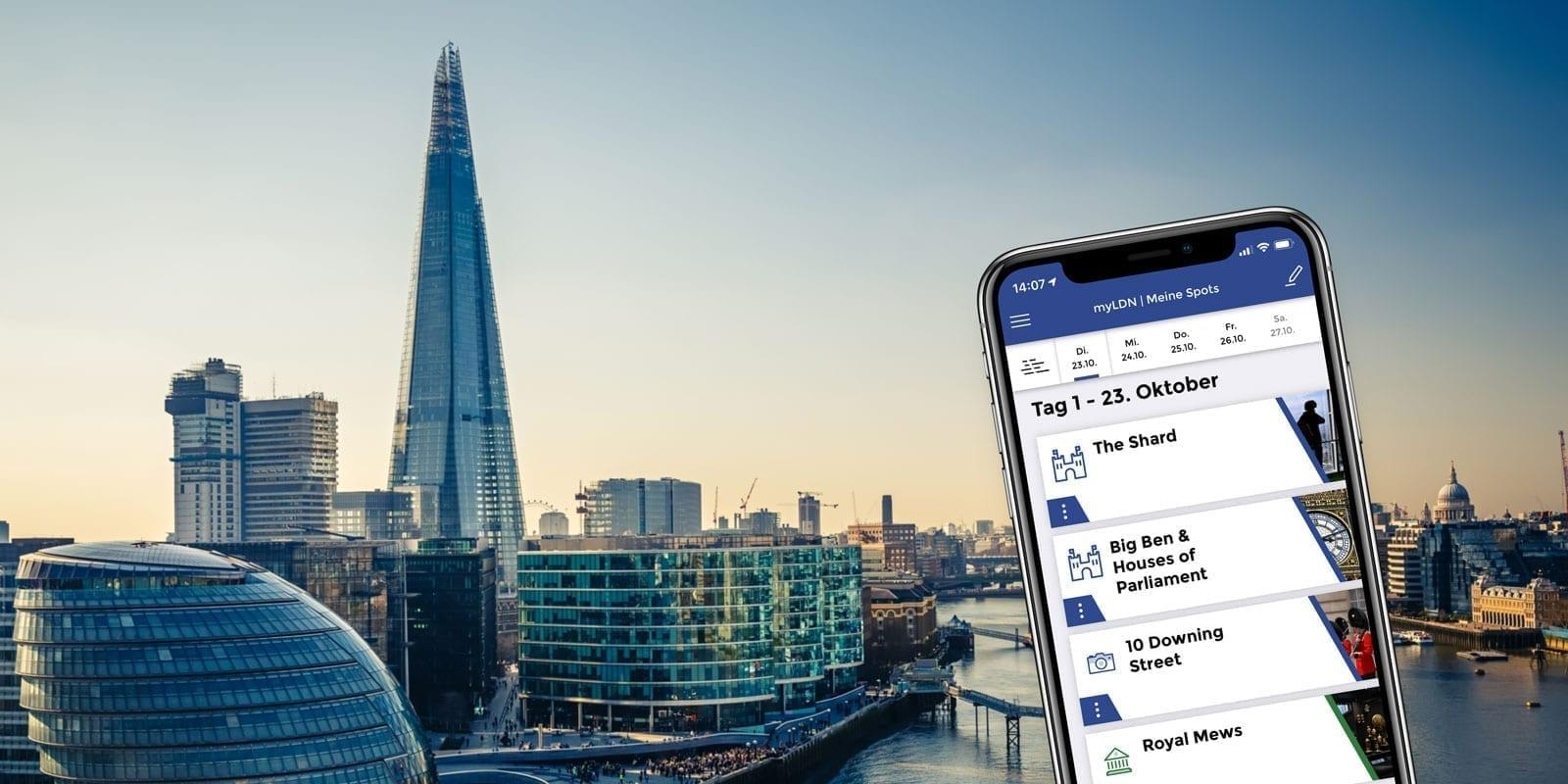 myLDN Loving London App