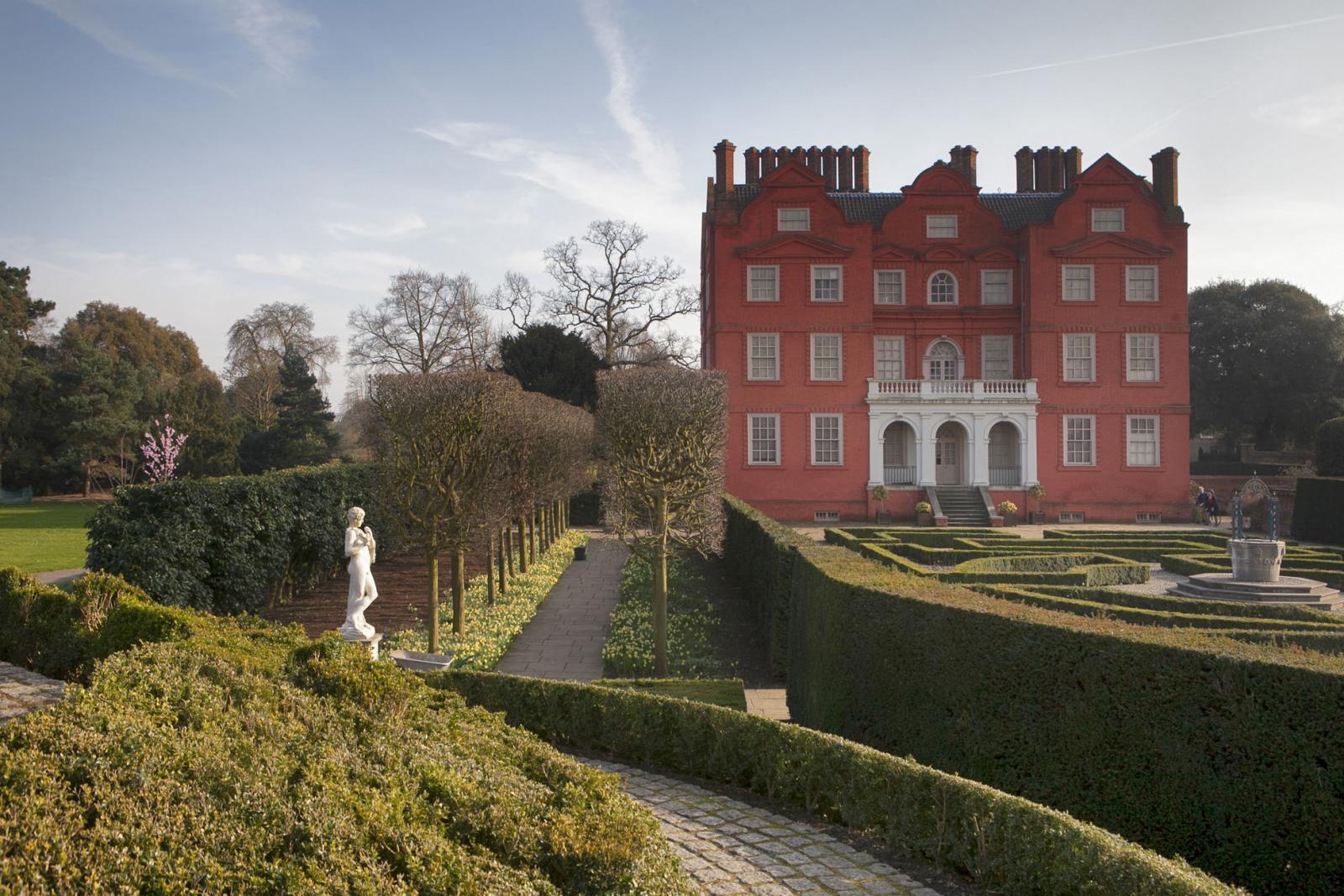 Kew Palace in den Kew Gardens