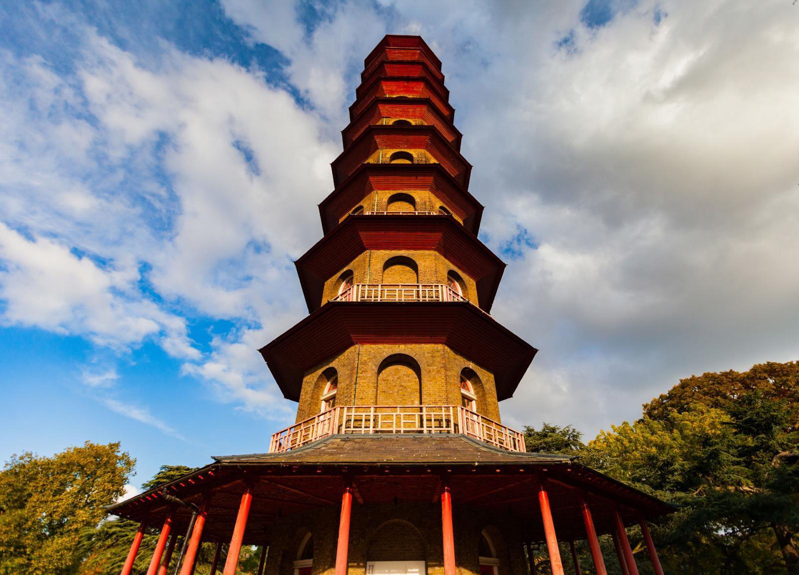 Pagoda in den Kew Gardens