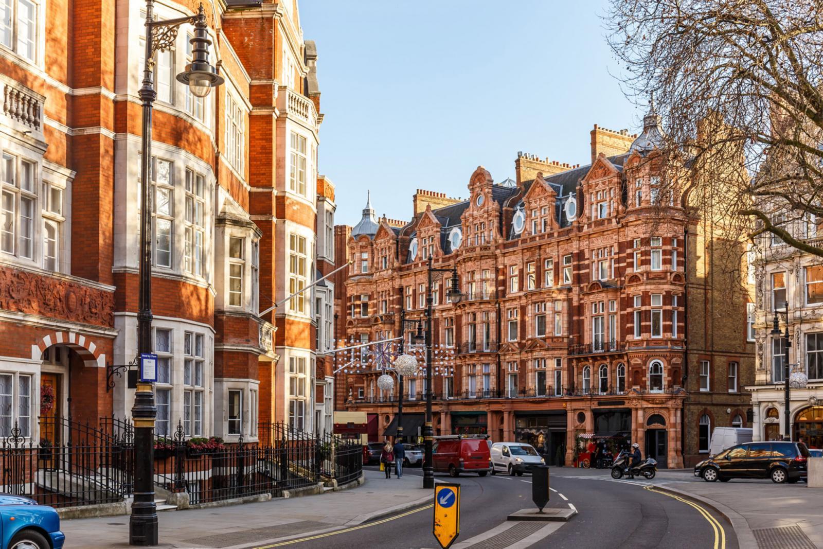 Mount Street in Mayfair, London