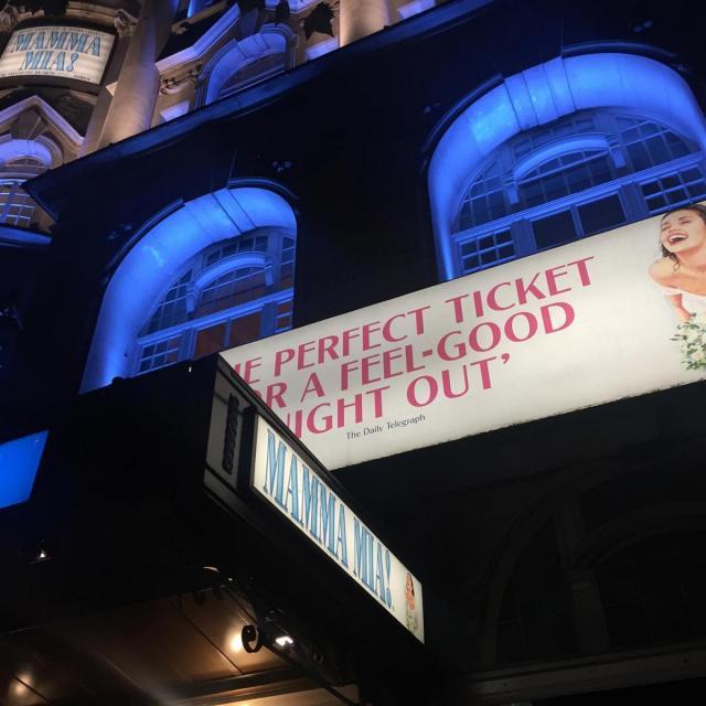 Mamma Mia Musical in London