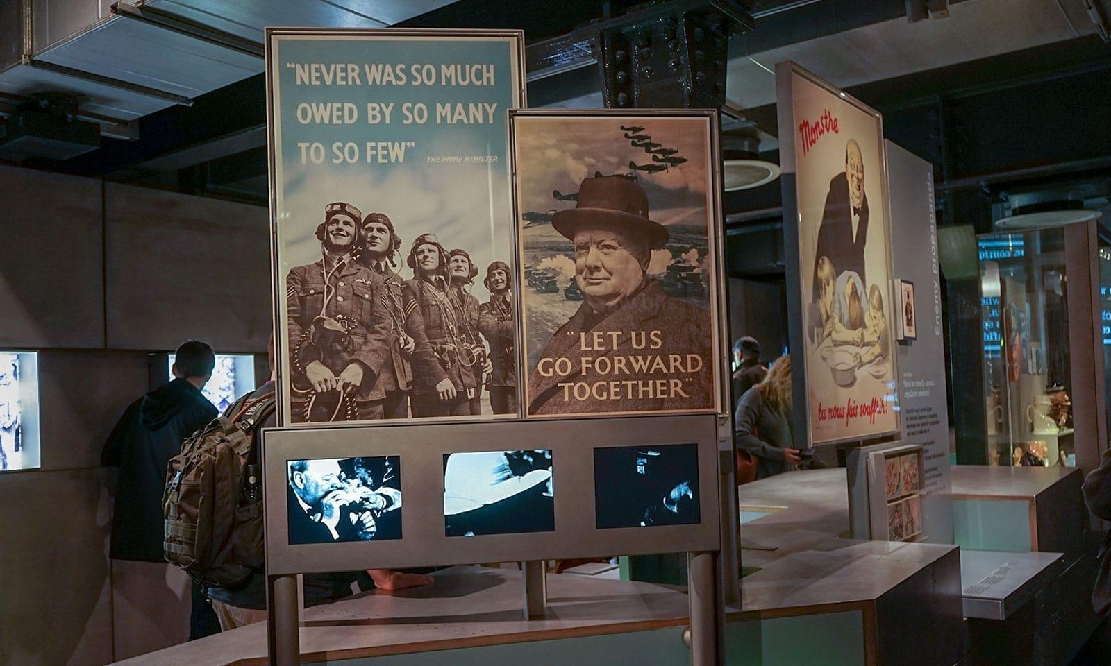 Plakate von Churchill
