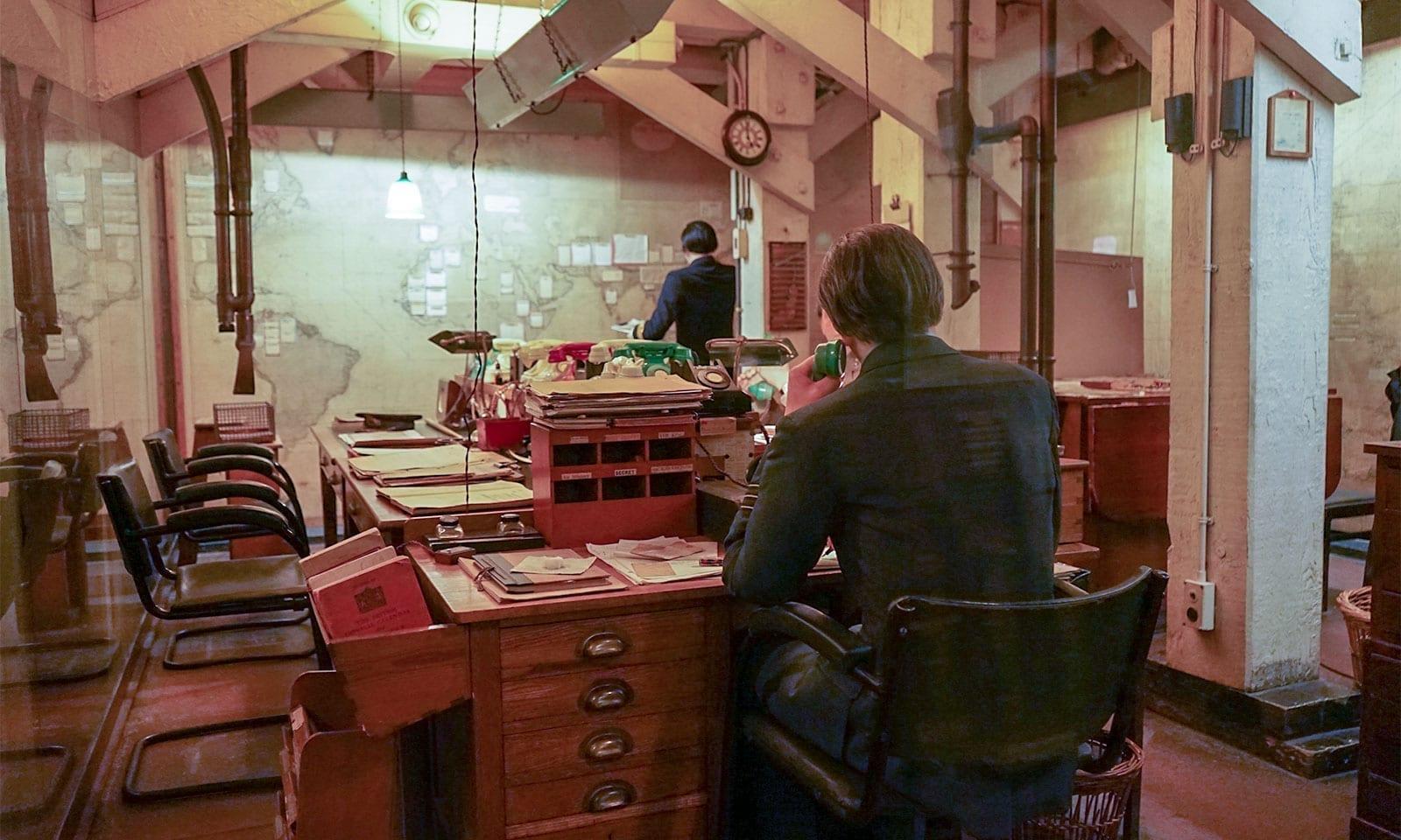 Churchill War Rooms Map Room