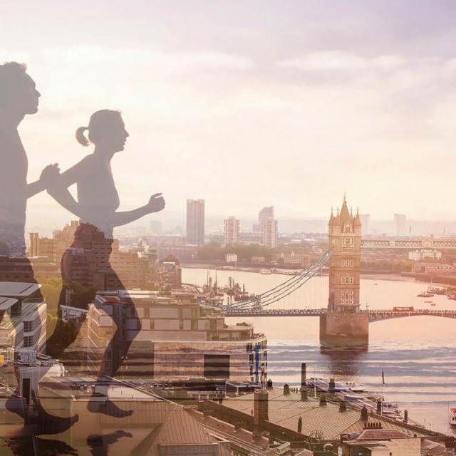 London Marathon: Einmal quer durch die britische Metropole laufen