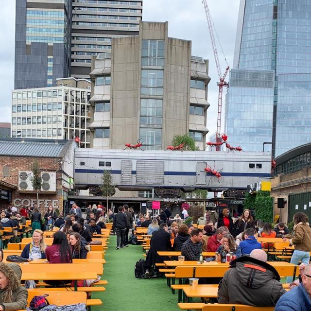 Vinegar Yard: Food, Drinks, Shops im Herzen Londons