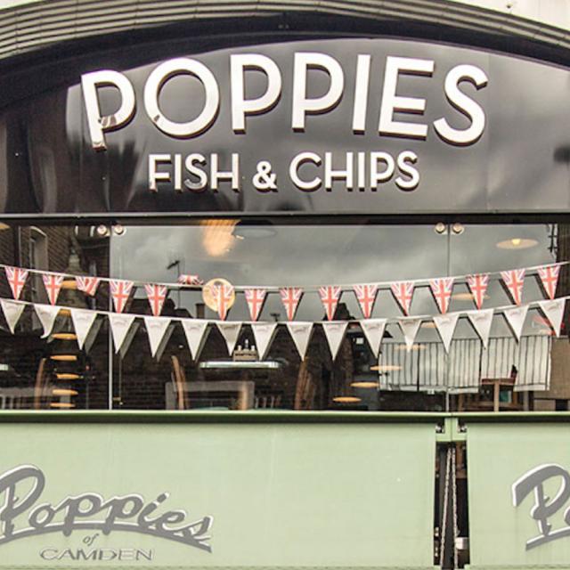 Good Old Britain schmecken: Poppie's Fish & Chips