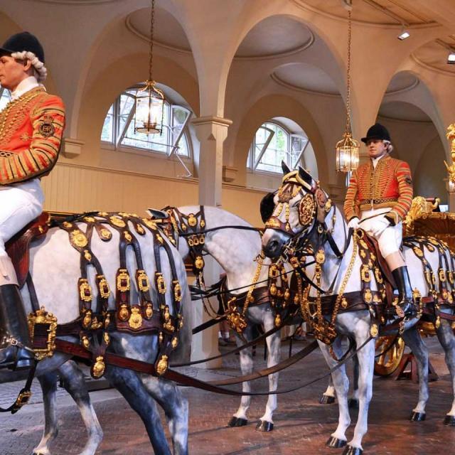 Stallgeruch: Zu Besuch in den Royal Mews in London