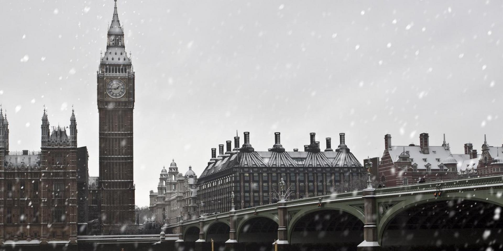 London Im Februar